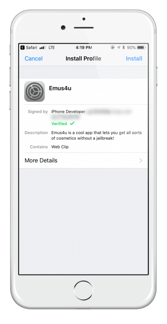 Emus4U iOS 12 - 12 4 - iOS 12 4 1 Download