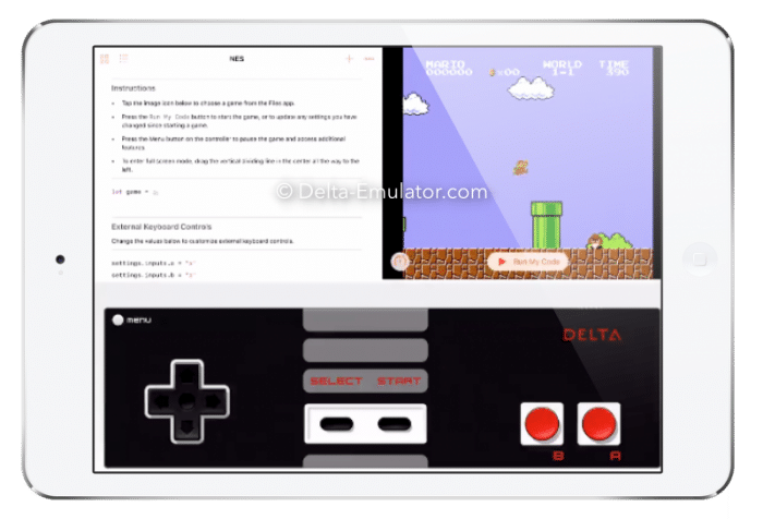 Delta Emulator App ( iPhone and iPad )