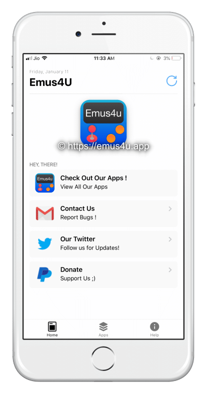Emus4U iOS 12 - iOS 12 4 Download