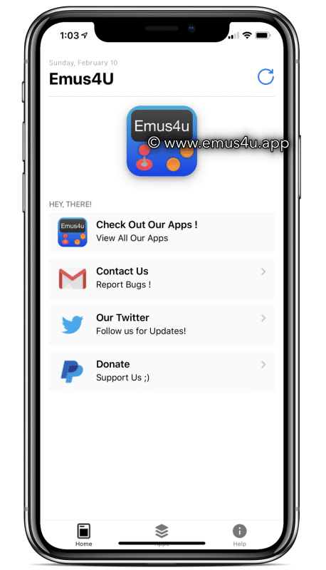 Emus4U App ( iOS and Android )