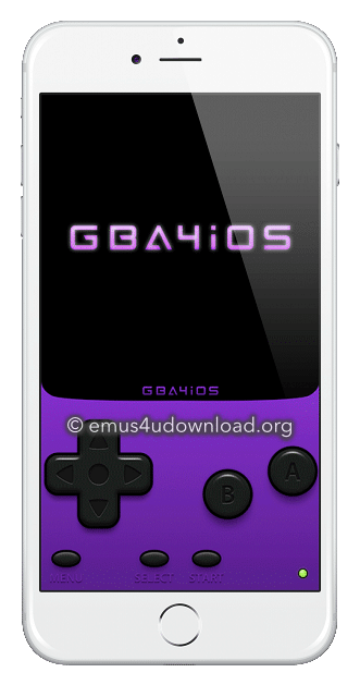 gba4ios interface