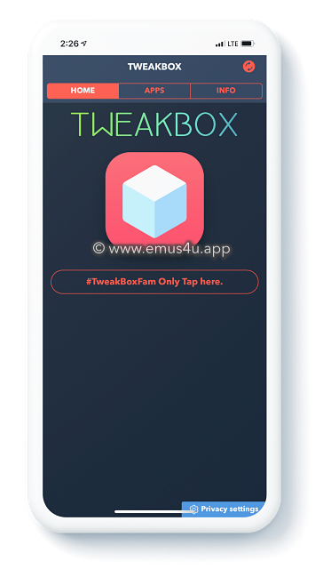 tweak box